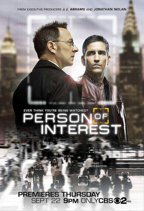 person of interest plakat