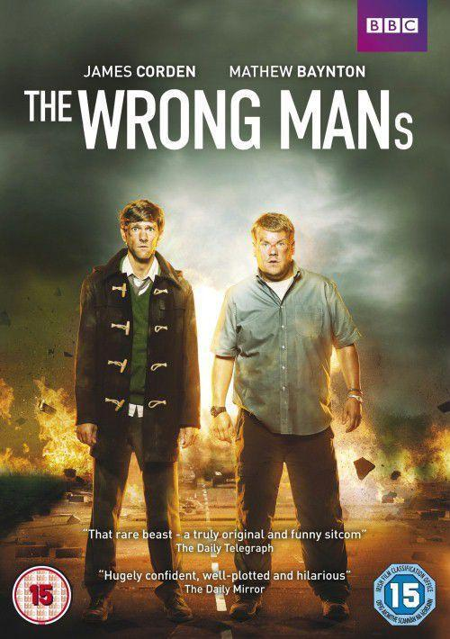 the wrong mans - plakat